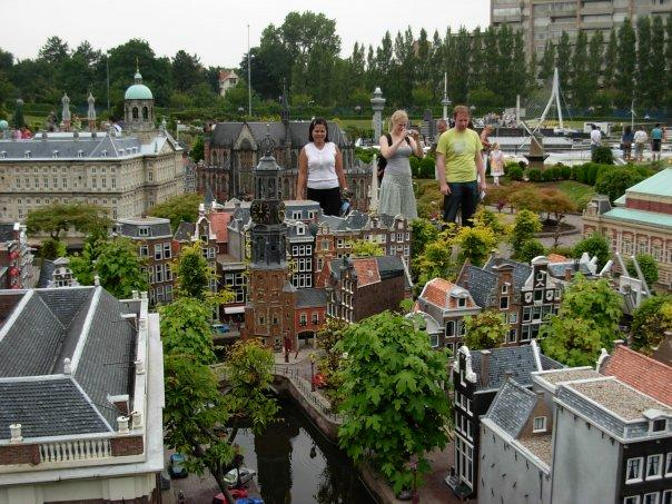 in den haag at madurodam