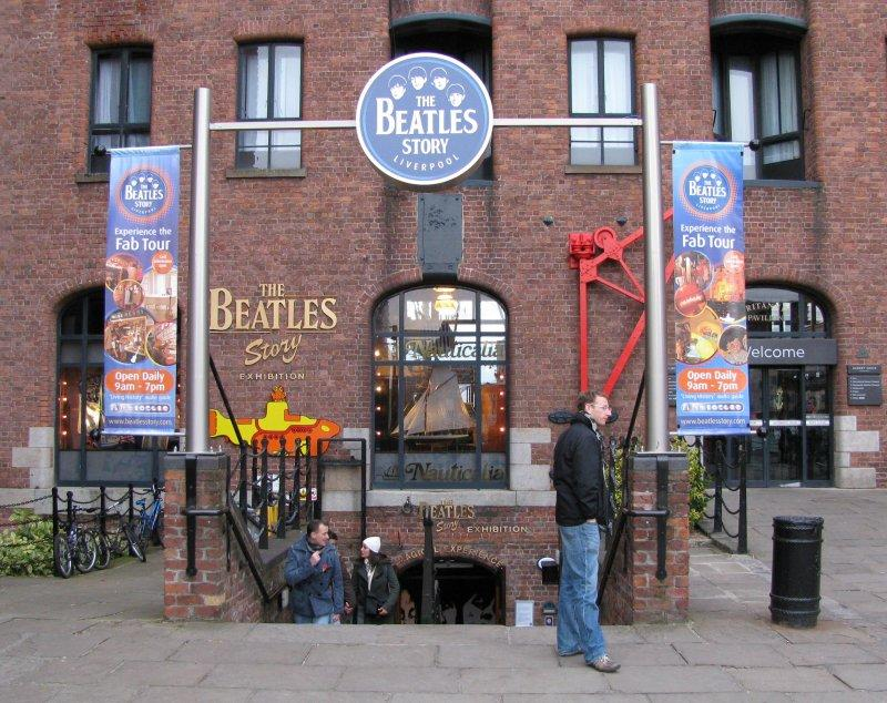 .... where the Beatles are the big attraction ....