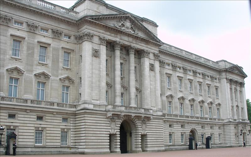 The Budkingham Palace. We checked, the boss lady wasn't in that afternoon.