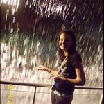 Adri at the waterfall.JPG