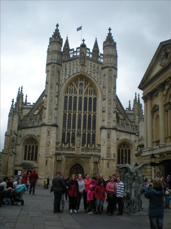 Bath Abbey- 27th May