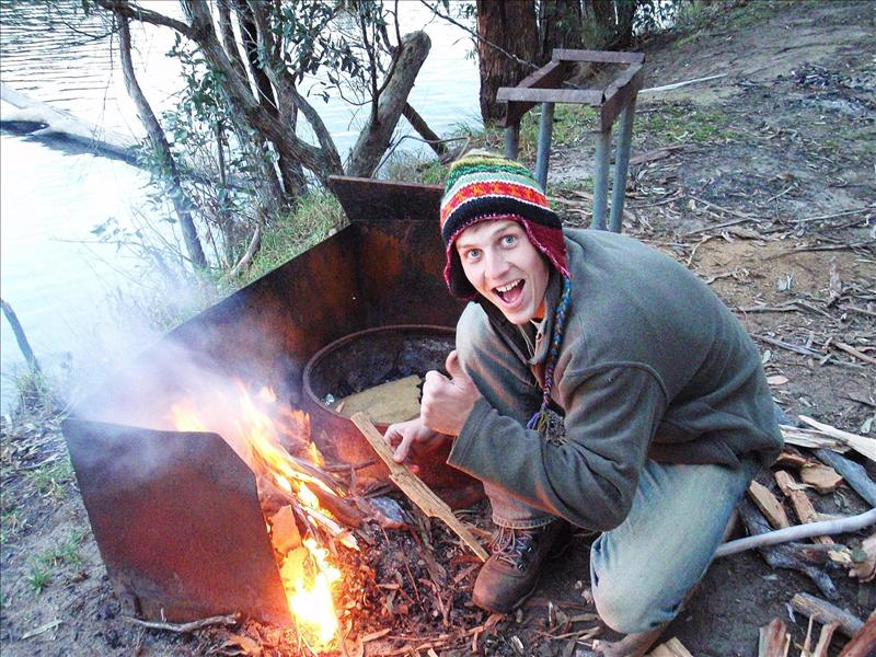 Phils first fire in Australia