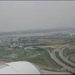 仁川機場快到了~右上方