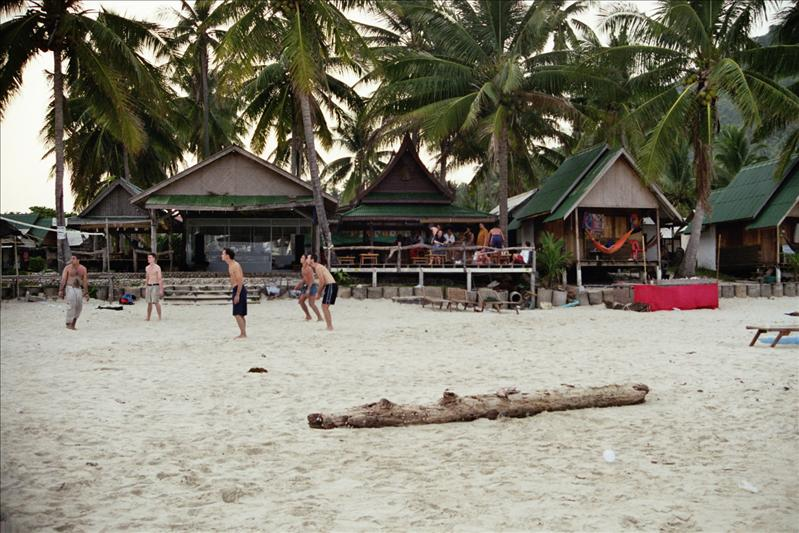 haad rin beach, koh pangan