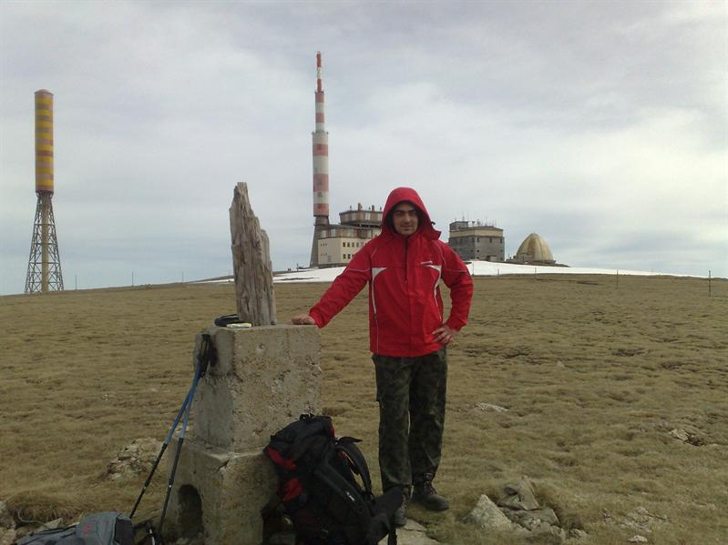 On peak Botev-2376m