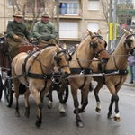 .... the Tres Tombs parade ....