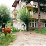 our Guest House up from old Manali