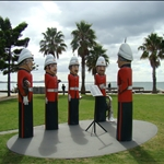 Bollards at Geelong