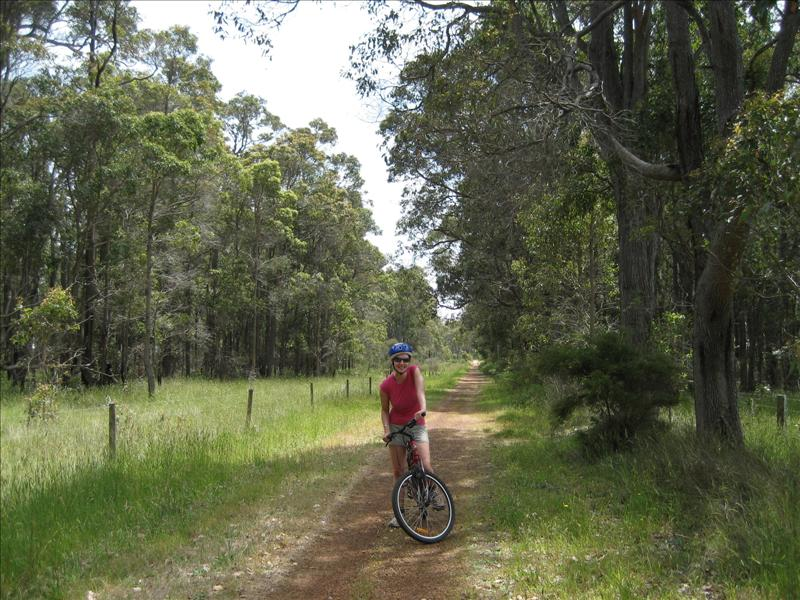 Cycling Margaret River (between tastings!)