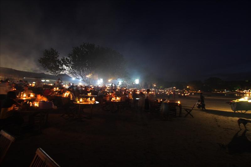 Diner at Jimbaran
