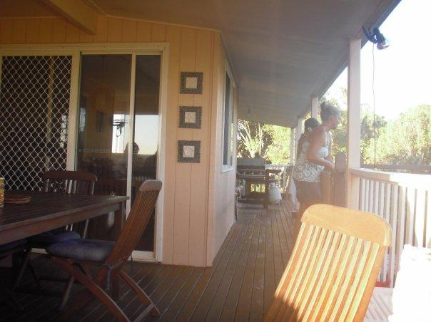 The balcony in Noosa pad