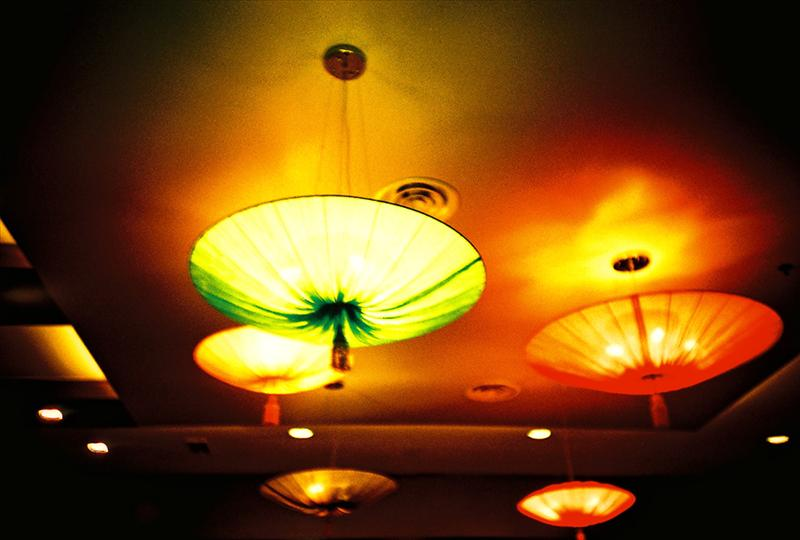 Beautiful lamp in Low Cost Air Port / Malaysia