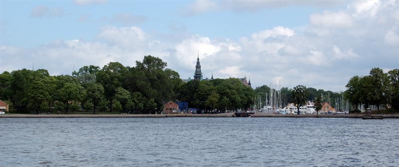 Outside Djurgarden: Stockholm