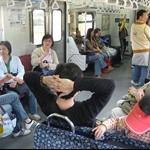搭火車往福隆途中