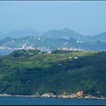 Lamma Island with view to Cheung Chau 南丫島及後面的長洲