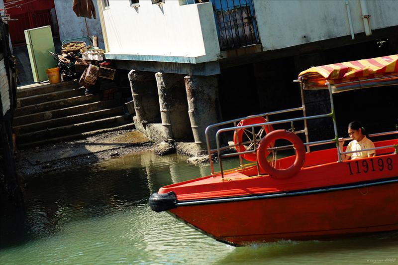 Tai O, the oldest fishing village in Hong Kong大澳