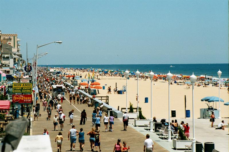 Ocean city attractions
