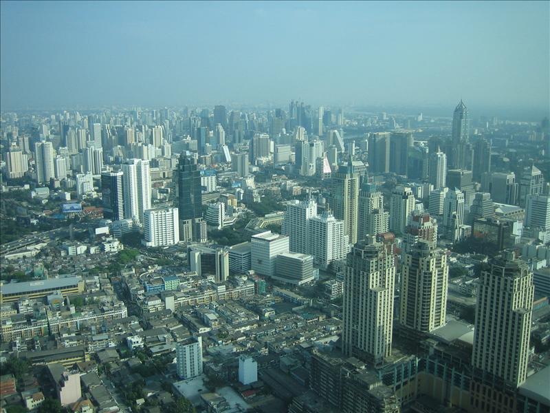 Bangkok von oben...