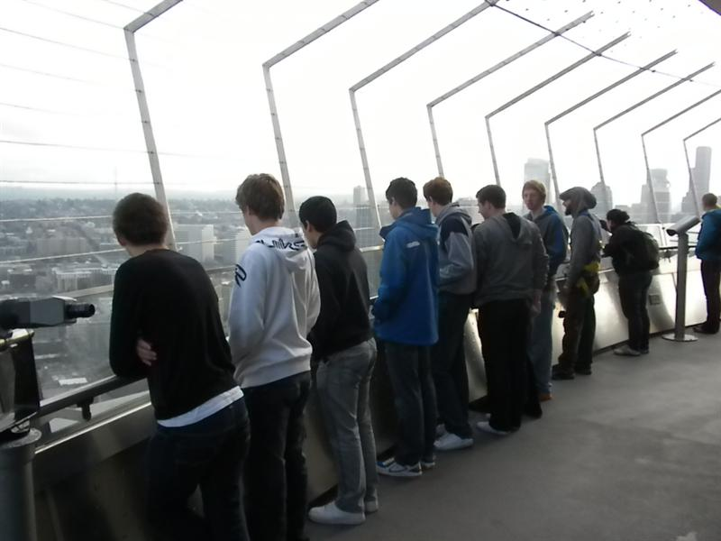 the team at the Skyneedle Seattle