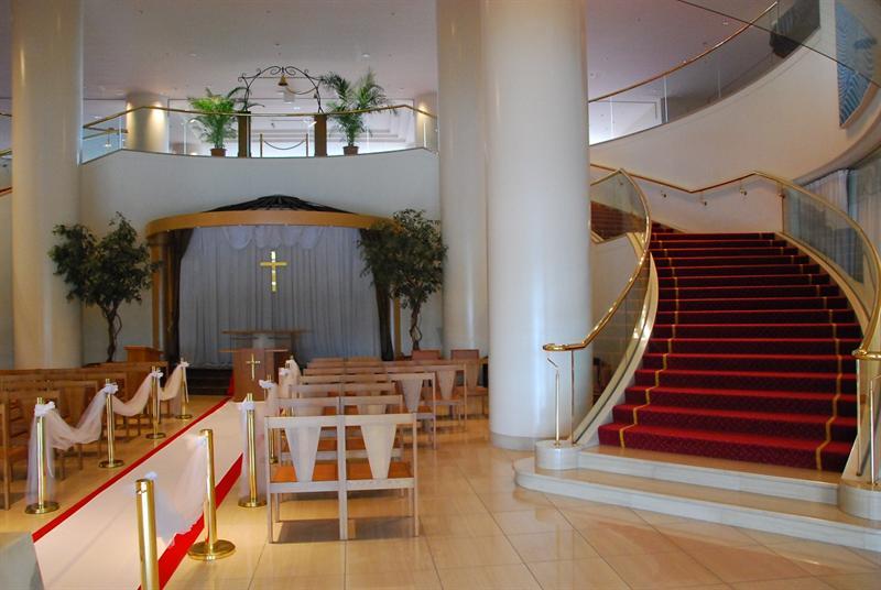 飯店內的婚宴場地