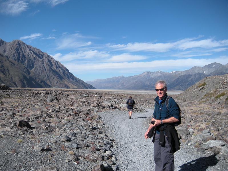 Pete in the Mount Cook Area