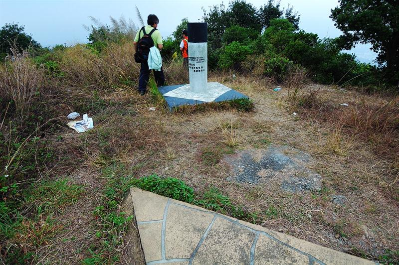 測量點 Survey Point 282 m