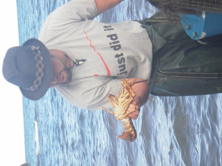 Cray fish fishing - dinner later....mmmmm!