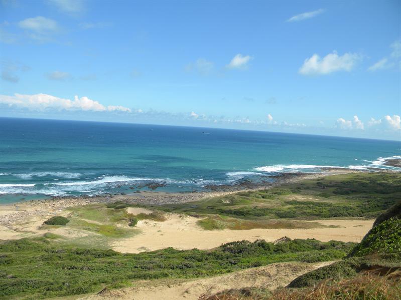 墾丁風吹沙(太平洋海岸景)