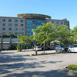 """ 4 point Sheraton "" hotel in Richmond (good location for food and shopping)."