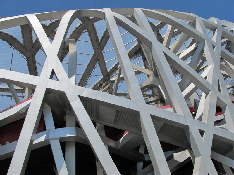 """""""Bird's Nest""""- National Stadium (奧運主會場""""鳥巢"""")"""