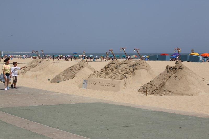 Beach of Ocean city
