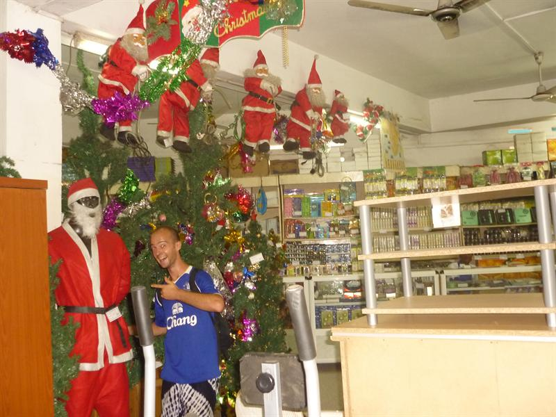 Takoradi - Weihnachtsstimmung im Kaufhaus