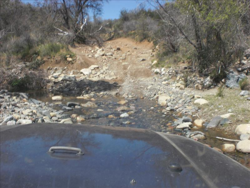 One of a bagillion stream crossings