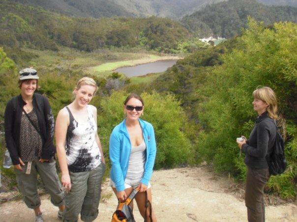 Abel Tasman National Park walk with the girls