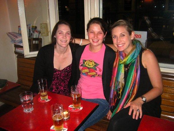 Sam, Me, and Anna in Amsterdam
