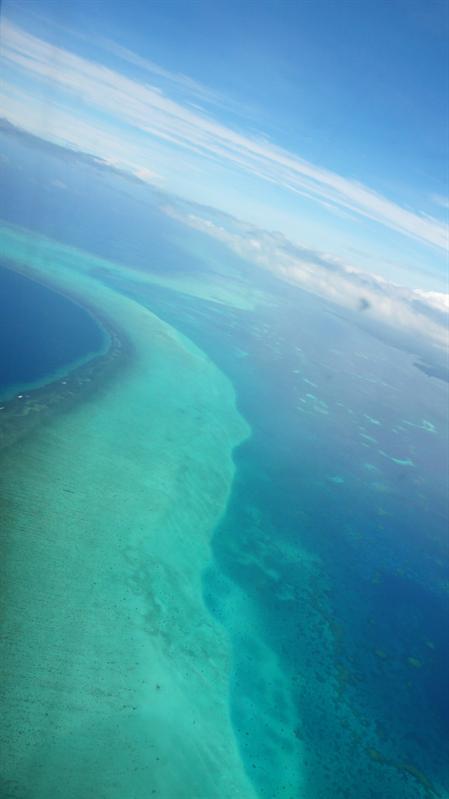 帛琉的外環礁