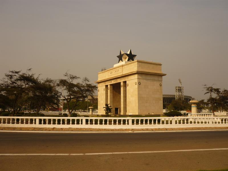 Accra - Independence Square