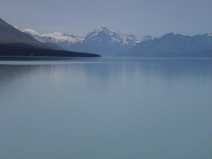 Lake Matheson and Mt Cook