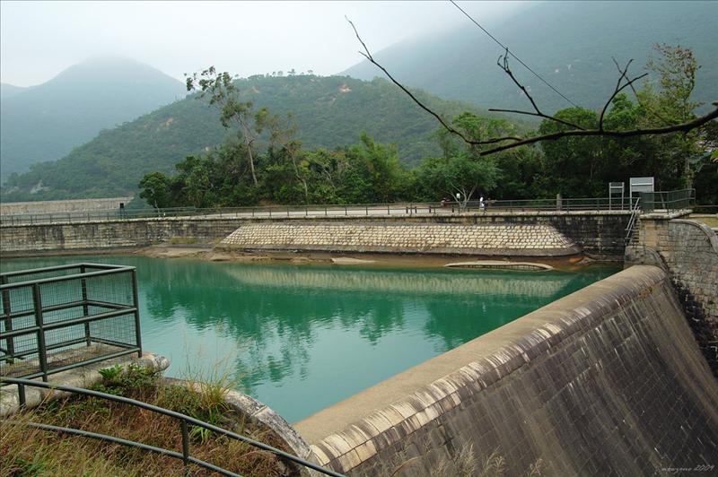 大潭副水塘水壩 Tai Tam Byewash Reservoir Dam 1904