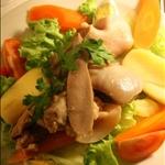 Paris - tete de veau sauce ravigote et ses legumes (veal