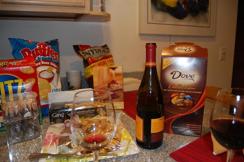 repas diététique offert par la maison!!!