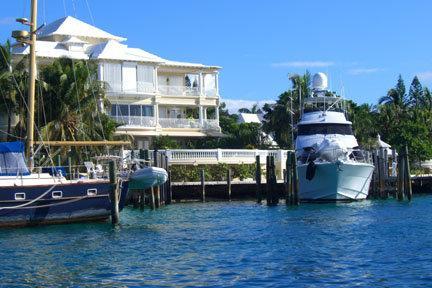 Paradise Island et ses petites maisons...