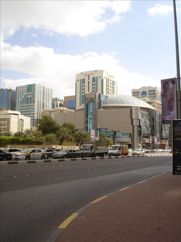 8 Cinema building, at back of it is the building where we lived for 4 years, Abu Dhabi, UAE
