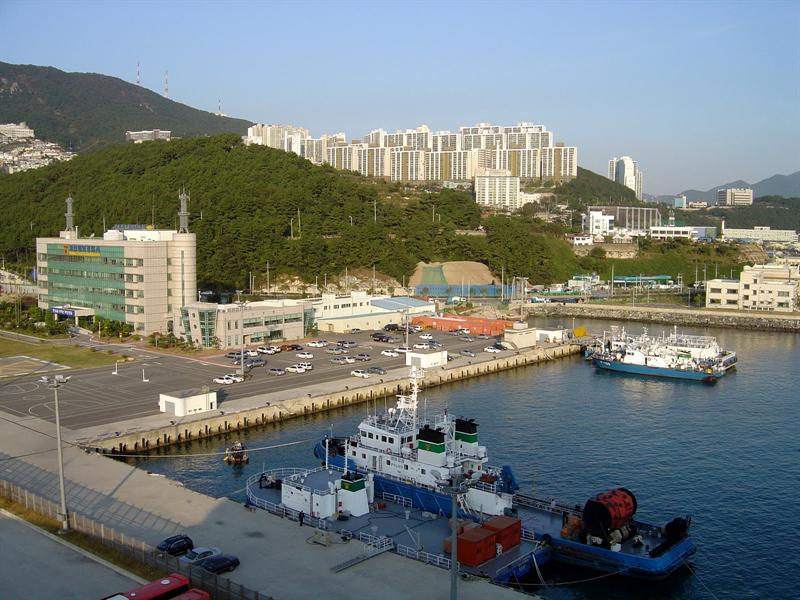 BUSAN (釜 山) of SOTH KOREA (南 韓 )-port