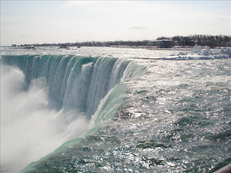 Niagara fall.(in Canada)2