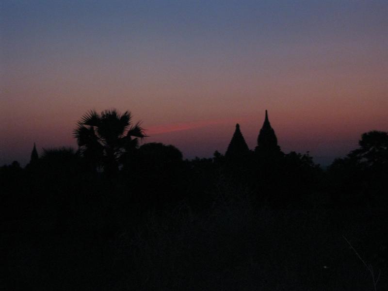 first morning in Bagan
