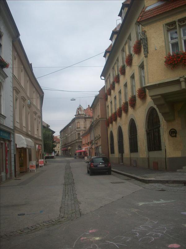 Ptuj streets.