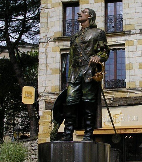 Cyrano de Bergerac - he of the long nose.
