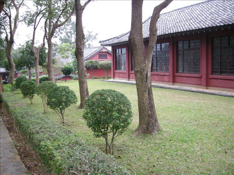 淡大風景,意想不到這家中國式屋子居然是課室!