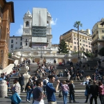Spanish Steps & Trevi Fountain